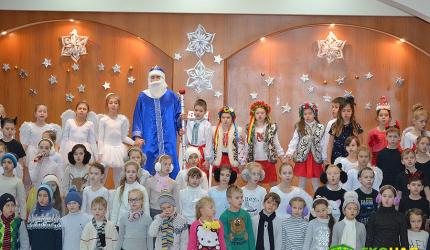 Зима – пора веселощів, дитячих розваг та новорічно-різдвяних свят