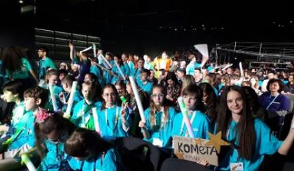 Команда учнів 6-х класів НВК №30 «ЕКОНАД» на Всеукраїнській олімпіаді креативності