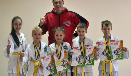 Перемога учнів НВК в турнірі Ukraine Taekwon-do ITF в місті Харкові