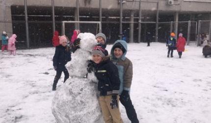 Всесвітній день снігу в НВК №30 «ЕКОНАД»