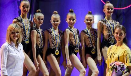 НВК №30 «ЕКОНАД» щиро вітає Головач Олександру з перемогою на Чемпіонаті України з художньої гімнастики серед групових вправ