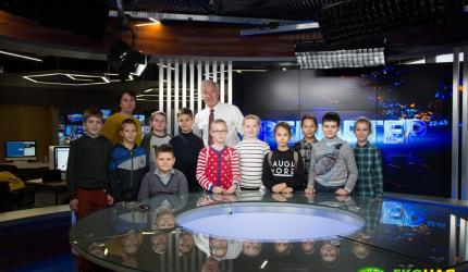 Учні НВК №30 «ЕКОНАД» відвідати телеканал «ПРЯМИЙ»
