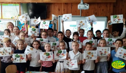 «Тарілка здоров'я» завітала до учнів 3-В класу НВК №30 «ЕКОНАД»