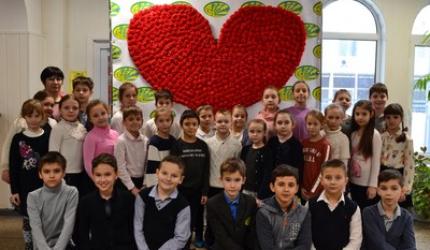 День святого Валентина в НВК №30 «ЕКОНАД»